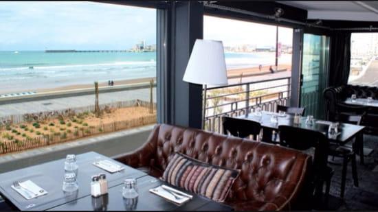 , Restaurant : O'mama  - Vu sur mer -