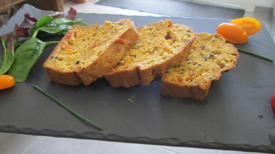 Origin'Elles  - Cake aux tomates -