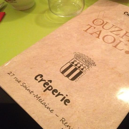 , Restaurant : Ouzhtaol