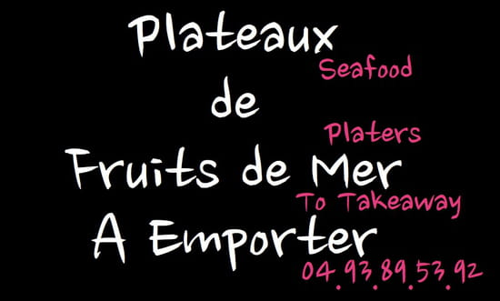 Paloma Cantine  - fruits de mer a emporter -   © dr paloma cantine
