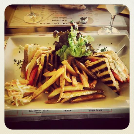, Entrée : Pascal Paoli  - Club Sandwich  -
