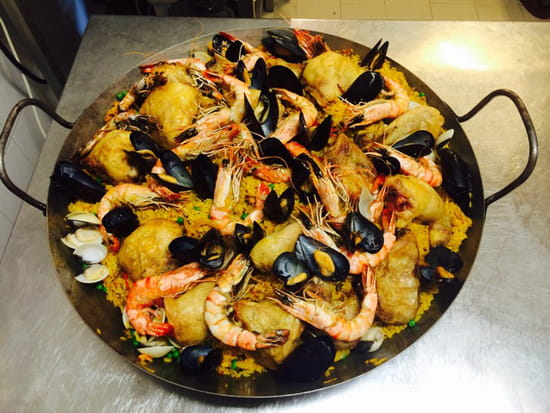 , Restaurant : Pascal Paoli  - Paella  -