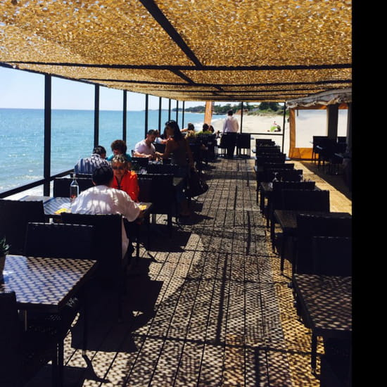 , Restaurant : Pascal Paoli  - Terrasse bord de mer  -