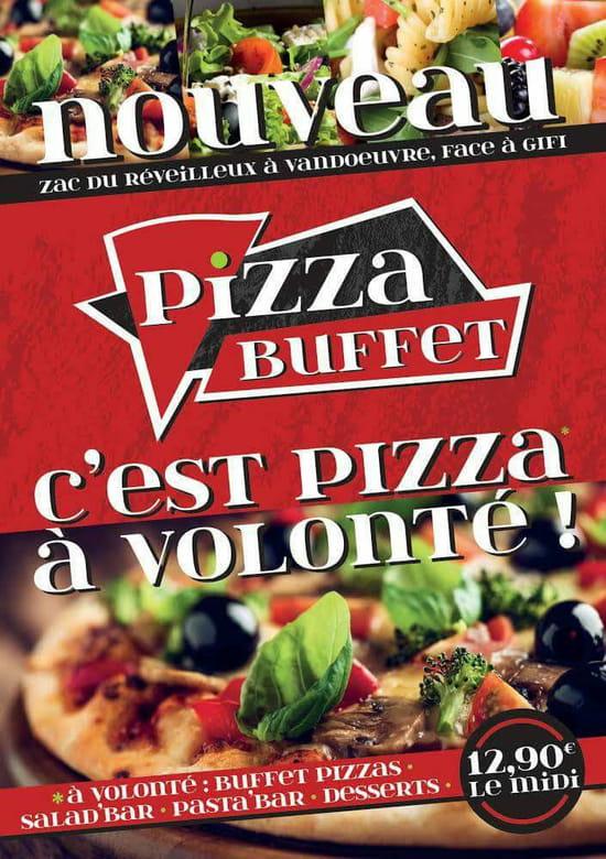 , Restaurant : Pizza buffet  - Flyer pizza buffet  -