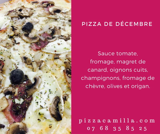Pizza Camilla