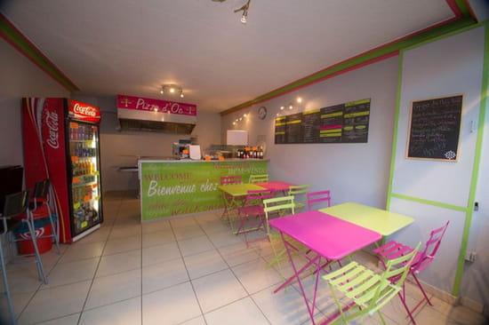 , Restaurant : Pizza d'Oc  - Intérieur  -