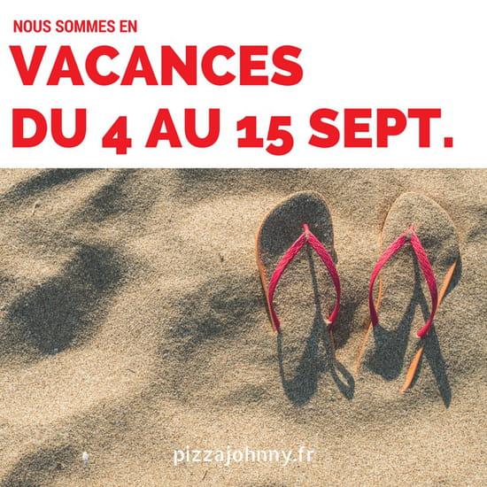Pizza Johnny  - Nous sommes en vacances ! -   © Pizza Johnny