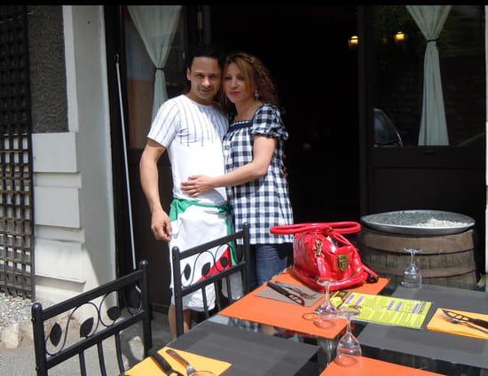 """Pizza l'Antre d'Eux  - ..et """"Eux"""" : Antoine & Cathy -"""