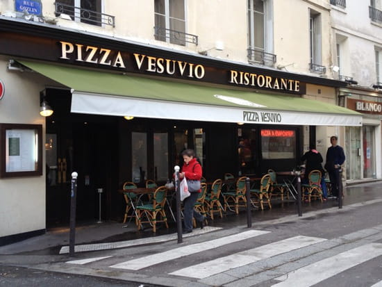 , Restaurant : Pizza Vesuvio