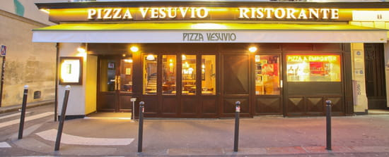 Pizza Vesuvio - George V