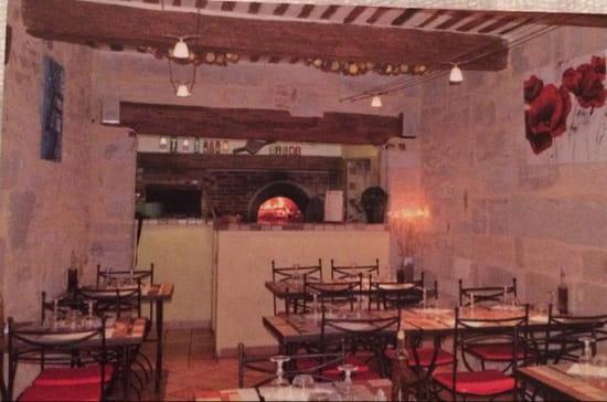 , Restaurant : Pizzéria de la Tour  - Intérieure  -