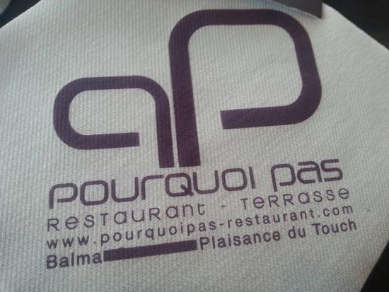, Restaurant : Pourquoi Pas  - Nom du restaurant et site internet -