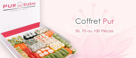 Pur Sushi Cergy  - Coffrets Pur Sushi -   © Pur Sushi