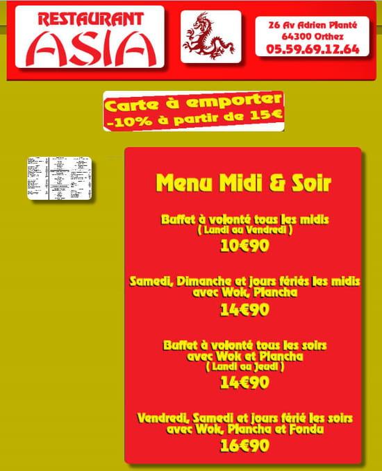 Restaurant Asia Orthez