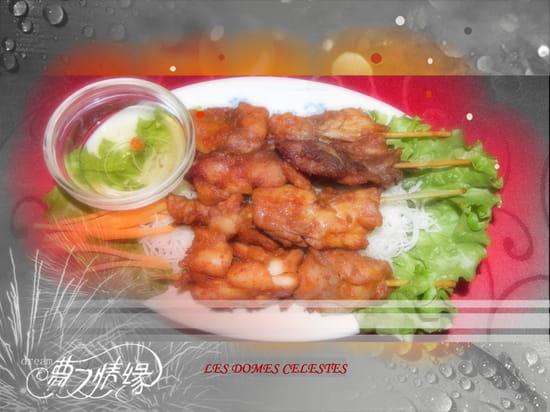 Restaurant Asiatique Niouniou  - brochette poulet -   © restaurant chinois niouniou