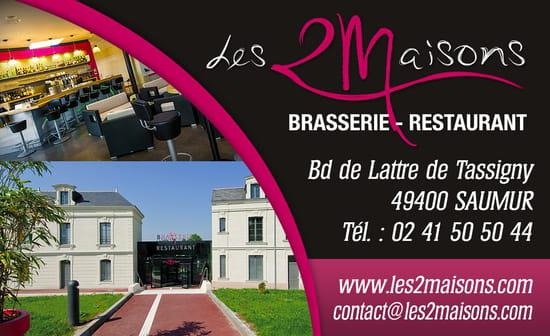 Restaurant Brasserie Les 2 Maisons