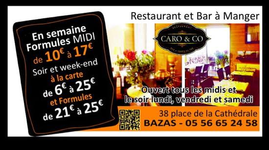 , Restaurant : Restaurant Caro & Co