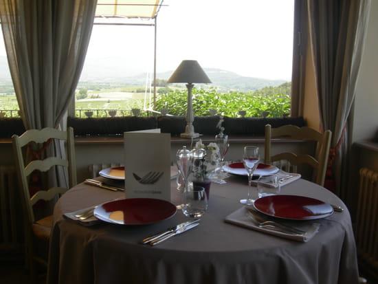 Restaurant David  - vue du restaurant coté vallée -