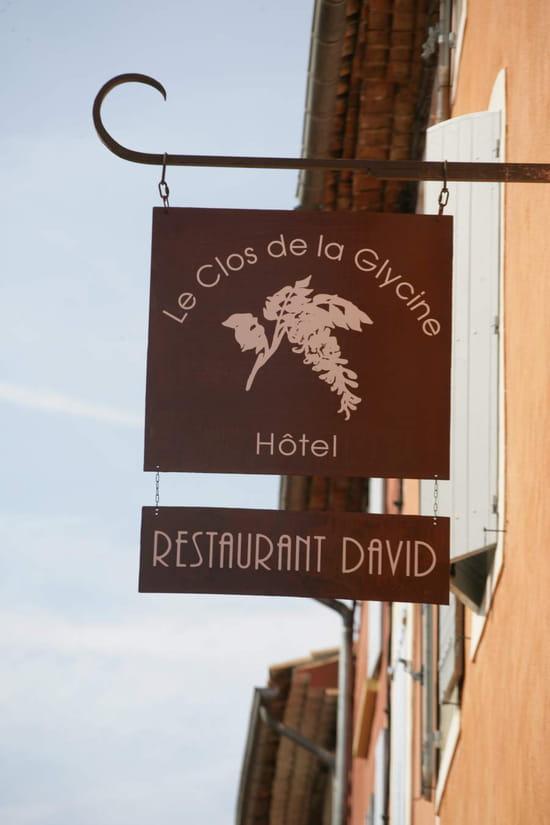 Restaurant David  - Enseigne du restaurant  -
