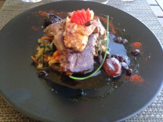, Plat : Restaurant des Iles