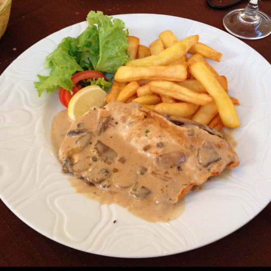 , Plat : Restaurant des Voyageurs