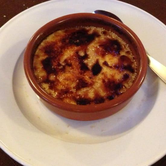, Dessert : Restaurant des Voyageurs