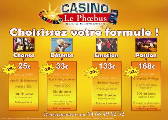Restaurant du Casino de Gruissan  - le casino c'est des formules diverses et variées -   © d.reyné
