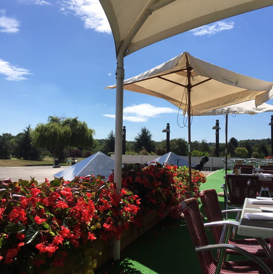 , Restaurant : Restaurant du Mont Griffon  - View from our table on the terrace -