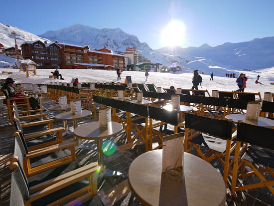 Restaurant Face West Café  - la terrasse -