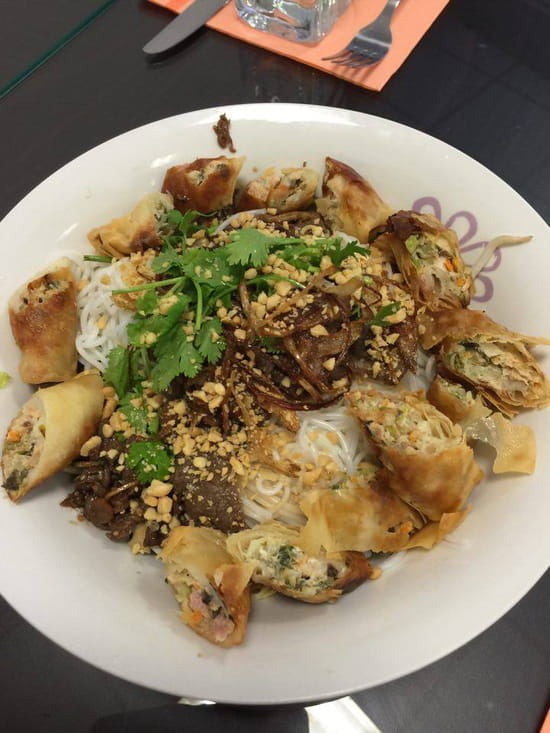 Restaurant Hà-Tién- Petite Diana  - Bún Bò nem « en grillade » -