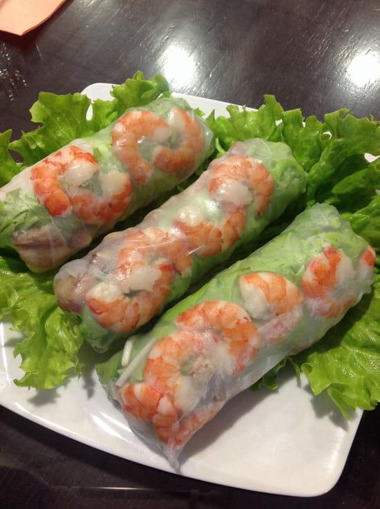 Restaurant Hà-Tién- Petite Diana  - Rouleaux de printemps -