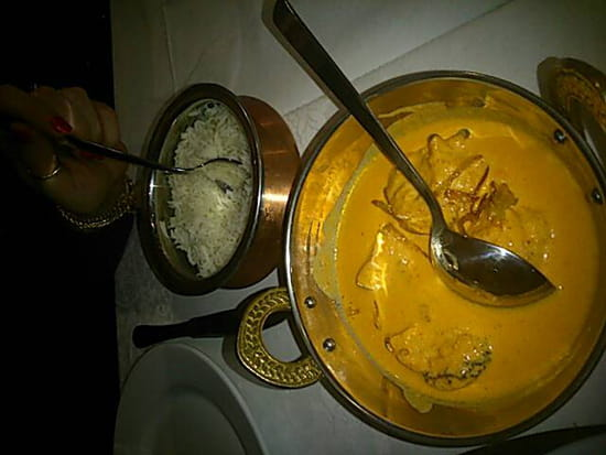 , Plat : Restaurant Indien Suraj 15  - Butter chicken -