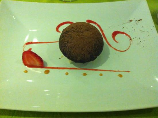 Restaurant l'Aneth  - dome au chocolat -   © eric borodine