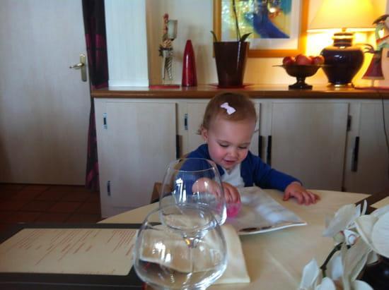 , Restaurant : Restaurant L'Arche de Meslay  - Même les bb sont les bien venu et accueilli comme des princesses ,  -