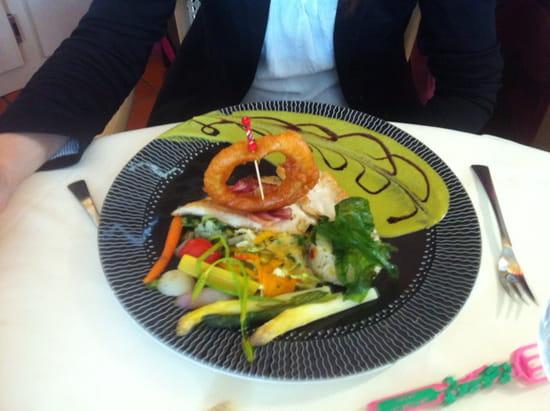 , Plat : Restaurant L'Arche de Meslay