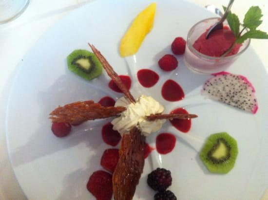 , Dessert : Restaurant L'Arche de Meslay