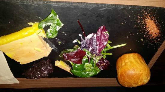 , Entrée : Restaurant L'Arlequin  - Foie gras  -