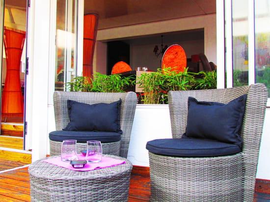 Restaurant L'Arôme - Jean-Jack Monti  - coin détente -