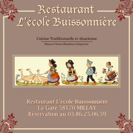 Restaurant l'Ecole Buissonnière