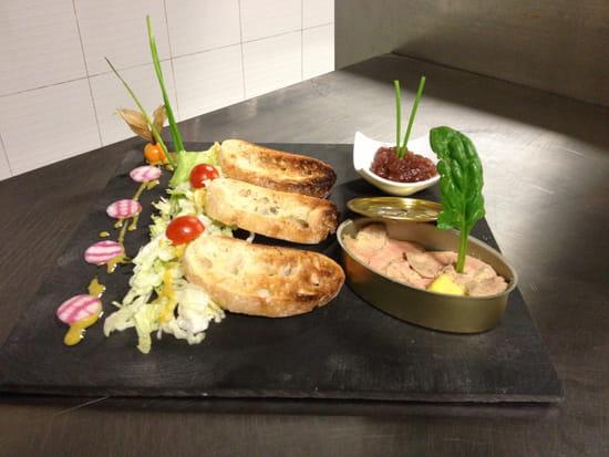 Restaurant l'Yrée  - foie gras maison au chutney -   © georges luque