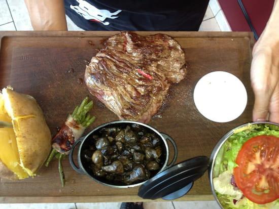 , Plat : Restaurant La Boucherie  - Bavette -