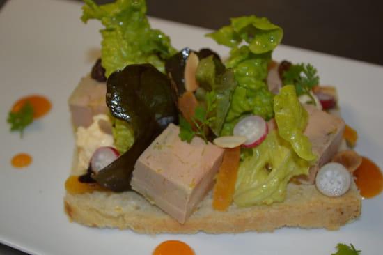 Restaurant la Couleuvrine  - Tartine de Foie Gras -   © La Couleuvrine