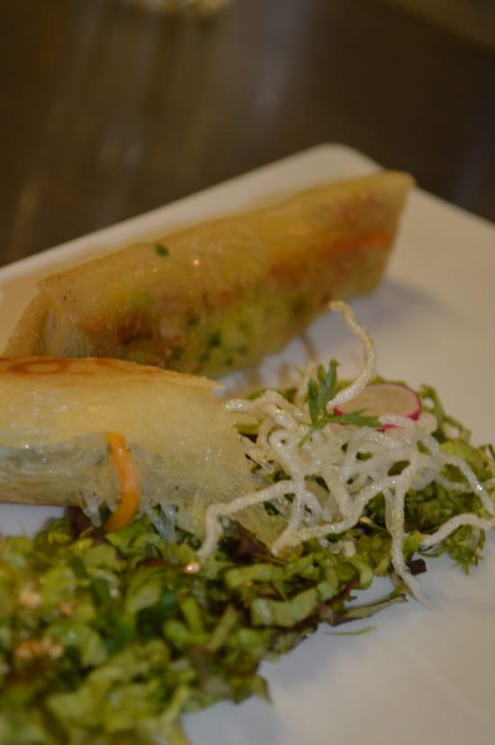 Restaurant la Couleuvrine  - Nem de foie gras maisons, sauce thaï -   © La Couleuvrine