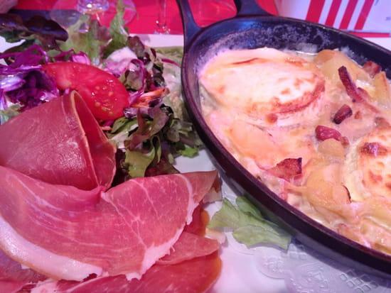 , Plat : Restaurant La  Croix  Saint  Maurice