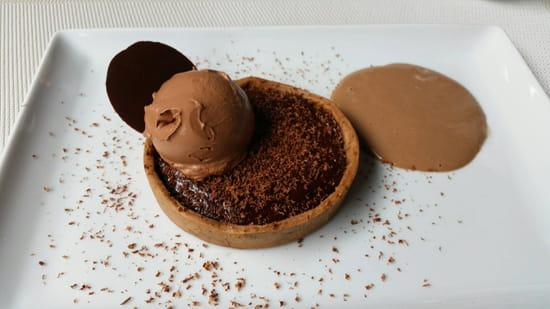 , Dessert : Restaurant la Cuisine  - Tarte aux chocolats -