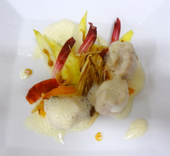 Restaurant la Cuisine  - sole,endives, oranges sanguines -