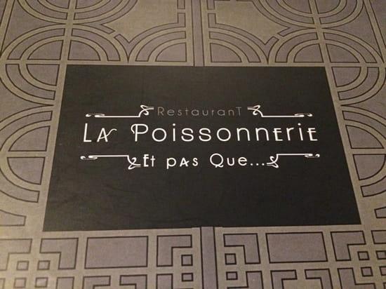 , Restaurant : Restaurant La Poissonnerie