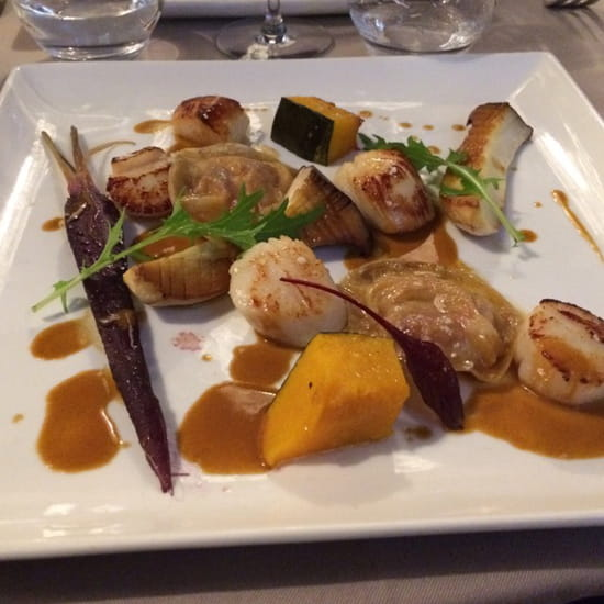 , Plat : Restaurant La Poissonnerie