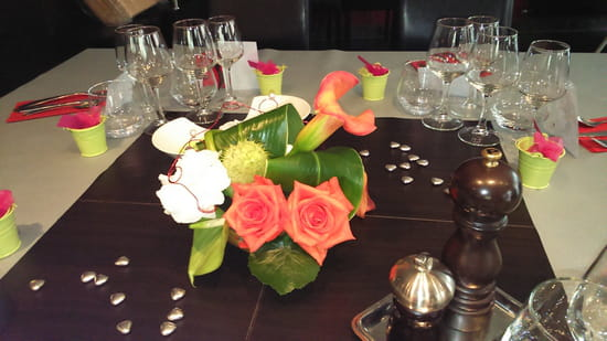 Restaurant le 107  - grande table -