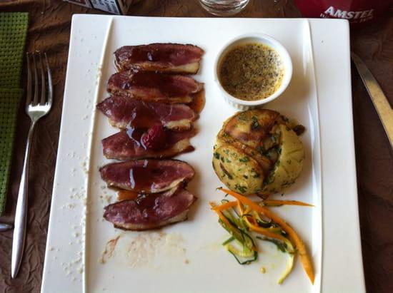 , Plat : Restaurant le Chateaubriant